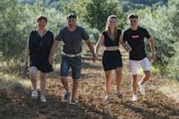 Cécile et son équipe